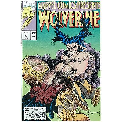 Marvel Comics Presents 1991 WOLVERINE 94 GHOST RIDER AND CABLE 94