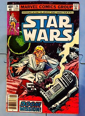 Vintage 1979 Marvel Comics Star Wars #26