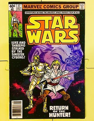 Vintage 1979 Marvel Comics Star Wars #27
