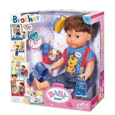 New Zapf Creations Baby Born Interactive Brother 825365