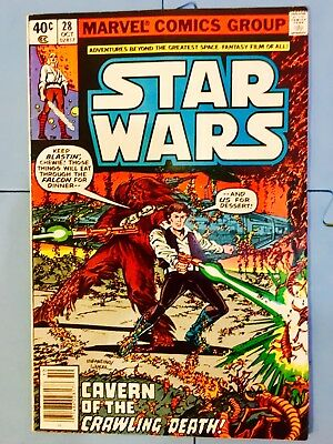 Vintage 1979 Marvel Comics Star Wars #28