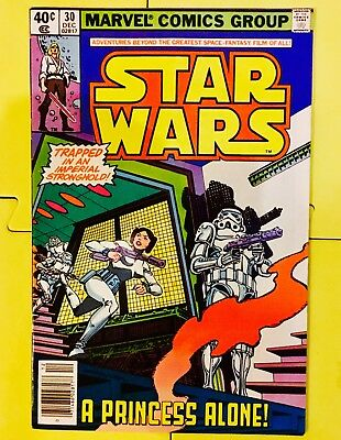 Vintage 1979 Marvel Comics Star Wars #30
