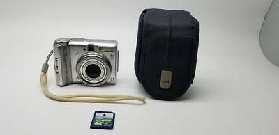 Canon Powershot A570 IS + 4GB MEMORY CARD
