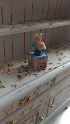 1:12 Dollhouse miniature artisan wind up toy