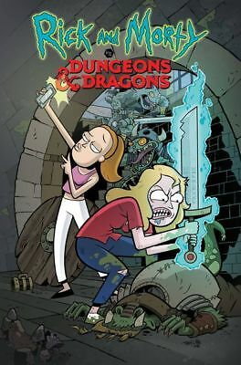 Rick & Morty vs Dungeons & Dragons #2 (of 4) (Cover A - Little)
