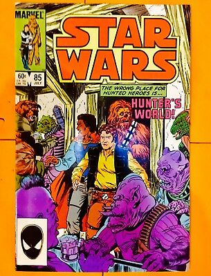 Vintage 1984 Marvel Comics Star Wars #85