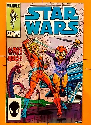 Vintage 1985 Marvel Comics Star Wars #102