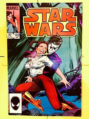 Vintage 1986 Marvel Comics Star Wars #103