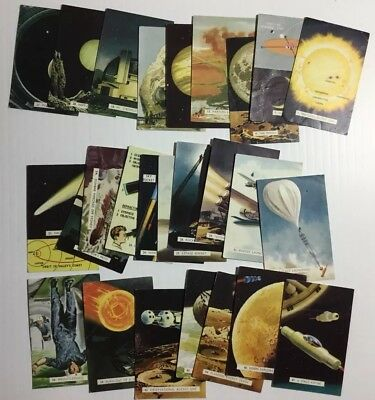 Sanitarium Cards Destination Moon Series 22 Cards