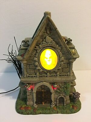 Dept 56 Retired Halloween The Travis Louie Walter & Larry's Crypt #4020232