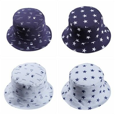 Toddler Baby Boys Girls Outdoor Bucket Hats Summer Sun Beach Bonnet Sun Cap Hat