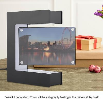 Magnetic Levitating Anti-Gravity Floating Photo Picture Frame w/ LED Light Gift