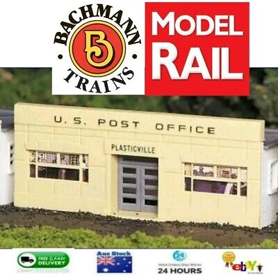 BACHMANN Plasticville HO SCALE Building Kit POST OFFICE BNIB FOR MODEL TRAINS