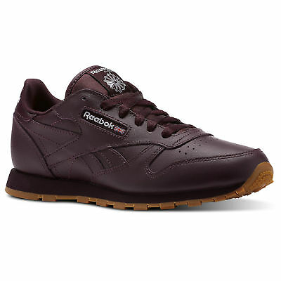 Reebok Kids' Classic Leather Gum Shoes