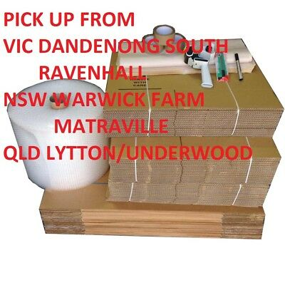 Completed Pack MOVING BOXES PACKING NEEDS CARDBOARD PICK UP DANDENONG SOUTH ONLY