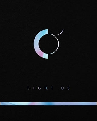ONEUS [LIGHT US] 1st Mini Album CD+POSTER+Foto Buch+Karte+Message+Sticker SEALED