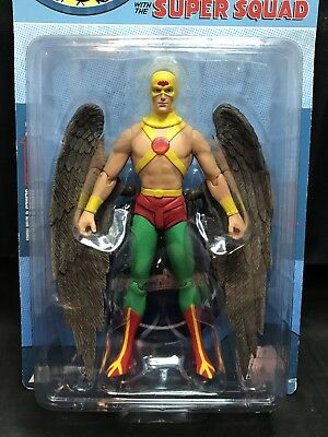2a9b9ae03834 DC Direct All Star Comics with Super Squad - Hawkman Action Figure -  Reactivated