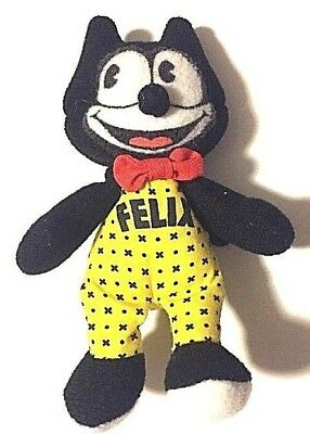 Felix The Cat Stuffed Animal Plush 5 Inches Mini Vintage
