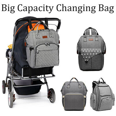 KONO Multi-Function Tote  Baby Mummy Bag Changing Bag  Diaper Nappy Backpack Set