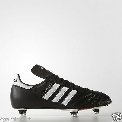 the latest 9fa15 7c094 ADIDAS Scarpa Calcio WORLD CUP 011040 Avvitabile Colore Nero Bianco