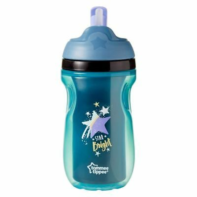 Tommee Tippee 12+m Insulated Straw Cup  - Star Bright - 260ml 1 2 3 6 12 Packs