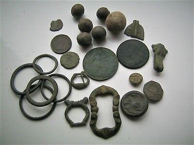Roman Saxon and Medieval Metal Detecting Finds.