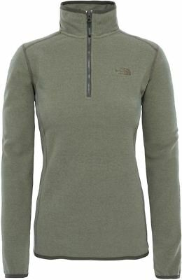 THE NORTH FACE TNF 100 Glacier 1/4 Zip T92UAV2UT Polaire Pull-Over pour Femmes