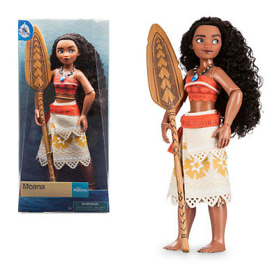 New Official Disney Moana 28cm Classic Doll