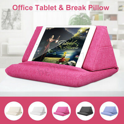 Durable Tablet Pillow Holder Book Stand Foam Lap Reader Support Cushion For iPad