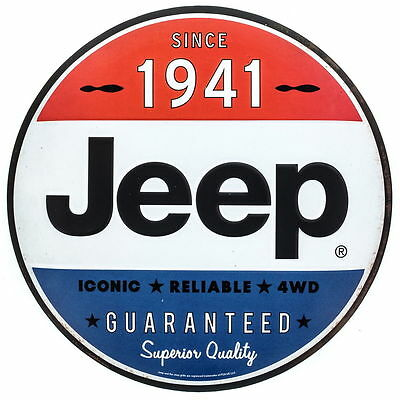 1941 Classic Jeep Superior Quality Embossed(NEW) Tin Sign Vintage Garage 12 x 12