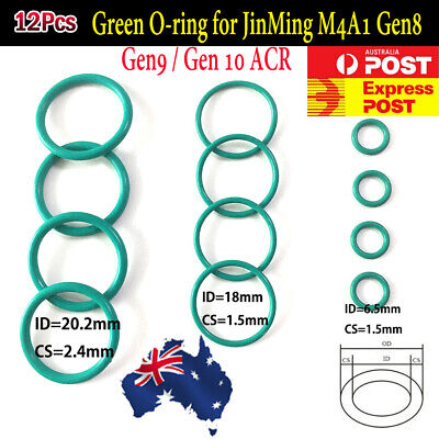 O-ring For Jinming M4A1 Gen8 J9 Gen10 ACR Gel Ball Blaster Plunger Upgrade Oring