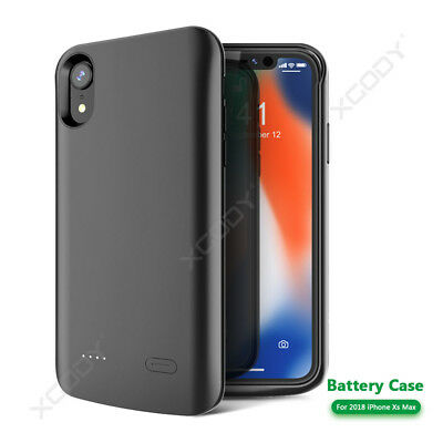 New 6000mAh Battery Case Backup Power Bank Charger Cover For Apple iPhone Xs Max