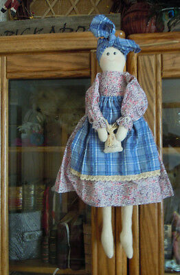 "Artist Made fabric doll - 50cm (20"") high - One of A Kind"