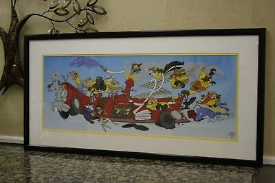 Warner Bros Limited Edition WBFD Fire Department 1997