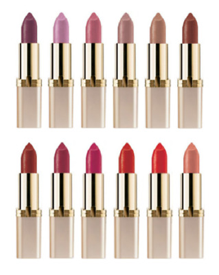 L'Oreal Paris Colour Riche Lipstick. Various Colours.