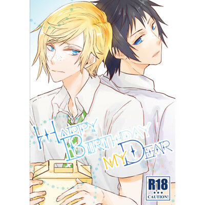 *NEW* Final Fantasy XV 15 YAOI Doujinshi Noctis x Prompto HAPPY BIRTHDAY,MY DEAR