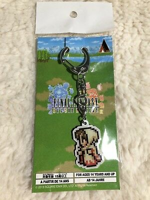 Final Fantasy All The Bravest White Mage Keychain Japan Official