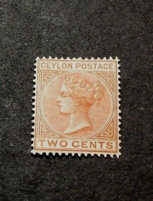 Ceylon Stamp Scott#  63 Queen Victoria 1872-80  MH  C418
