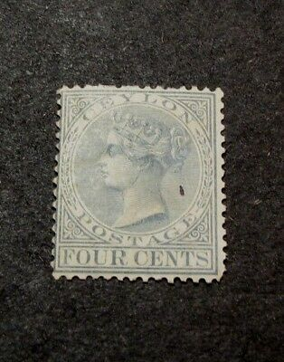 Ceylon Stamp Scott#  64  Queen Victoria 1872-80  MH  C418