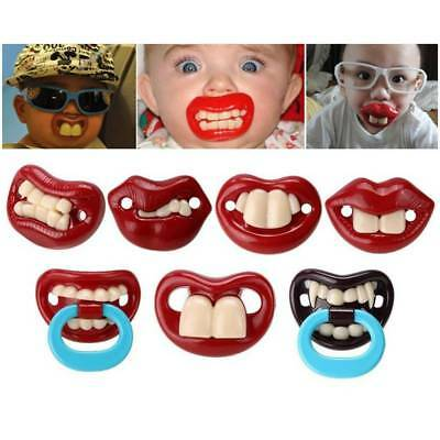 ABS Funny Baby Pacifier Dummy Nipple Teethers Toddler Orthodontic Tool New
