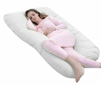Pregnancy & Maternity 12ft U-Shaped Pillow - TOTAL BODY COMFORT