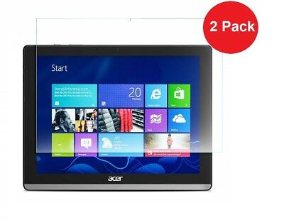 2 x Clear Film Screen Protector for Acer Iconia One 10 B3-A50 only