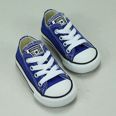 Converse Toddlers/Infants Trainer Shoes Brand New in Blue UK Size 3,4