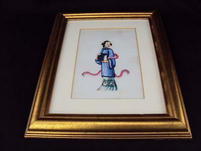 Rare & Impressive Chinese Oriental Antiques  Rice Paper Pith Paintings