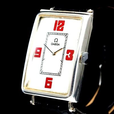 Vintage Mens Wrist Watch LONGINES Art Deco Swiss Manual Silver Men's Wristwatch