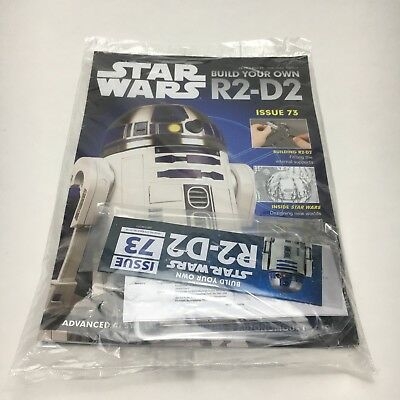 Deagostini Star Wars Build Your Own R2-D2 Droid Model Issue 73 Magazine & Parts
