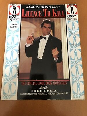 Licence To Kill Comic Adaptation Mike Grell