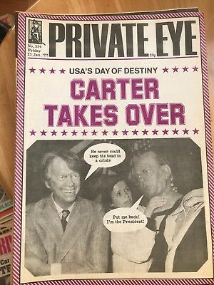 Private Eye Magazines x 17 - From 1977