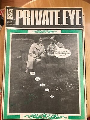 Private Eye  magazines 1976 X16