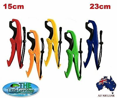 FISH LIP GRIPPER FISHING PLIERS TACKLE Floating Fish Grips Grabber Kayak Tool